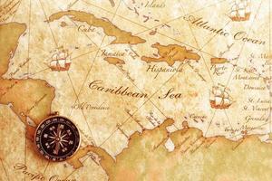 comapss on map