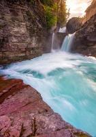 Saint Mary Falls, Glacier National Park photo