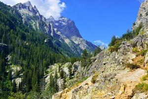 Mountains of the Grand Teton National Park photo