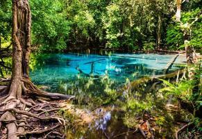 parque nacional sa nam phut en tailandia