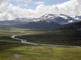Leirungsdalen valley (Jotunheimen National Park, Vaga, Norway)