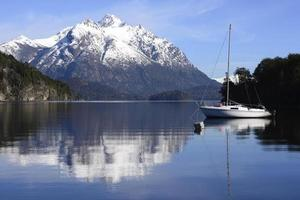 Sailing in the Nahuel Huapi National Park photo