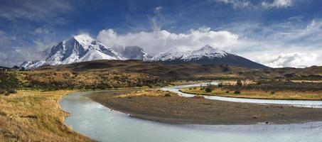 Torres del Paine National Park, Patagonia, Chile photo