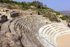 roman amphitheater, national park Zippori, Galilee, Israel