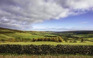 North York Moors in autumn, Yorkshire, UK. photo