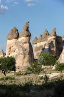 Rock formations in Goreme National Park. photo