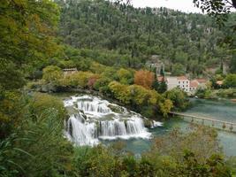 Krka river in Krka national park