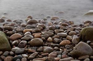 Piedras en el parque nacional de Acadia en Maine