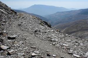 winding footpath in Sierra Nevada National Park photo