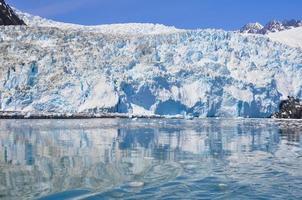 glaciar aialik, parque nacional de los fiordos de kenai (alaska)
