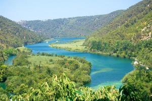 Gorgeous Waterfalls in Krka National Park in Croatia