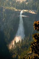 Hang-Gliding over valley photo