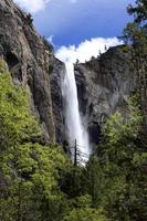 Waterfall at Yosemite national park, USA Circa May 2010