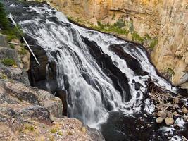 Gibbon Falls in Yellowstone