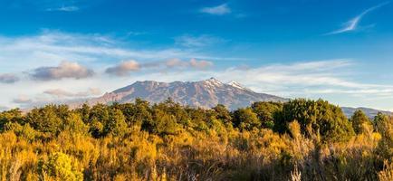 Sunset Tongariro National Park, New Zealand
