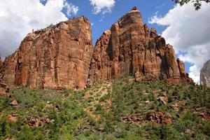 Parque Nacional Zion en Utah, EE.