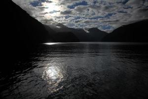 Doubtful Sound Silhouette photo