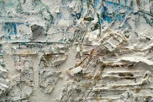 pintura texturizada abstrata foto