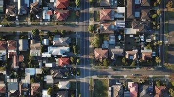 Aerial photography of houses at daytime photo
