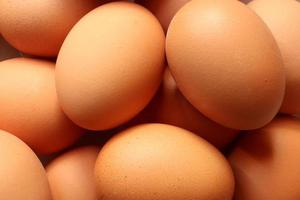 Photography of eggs pattern for food background