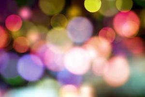 fundo desfocado abstrato de iluminação. foto