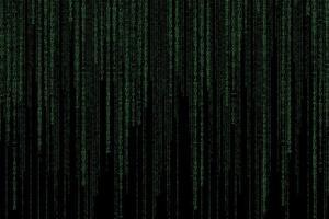 fundo abstrato de tecnologia verde foto