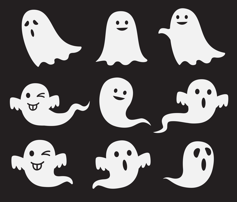 Halloween Cute Ghost Set Download Free Vectors Clipart Graphics Vector Art Recent posts by cute ghost. vecteezy