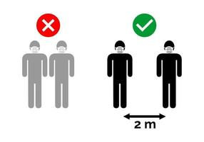 Two Meter Social Distancing