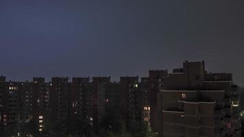 Hamburg Thunderstorm Time Lapse video
