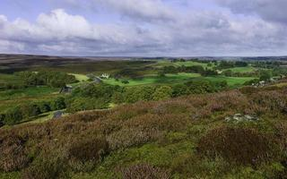 North York Moors in autumn, Goathland, Yorkshire, UK.