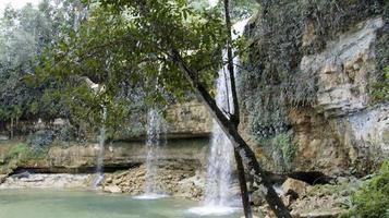 dominican waterfall photo