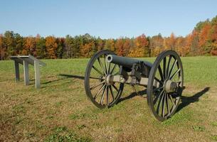 Battlefield memorabilia at Five Forks in Virginia photo