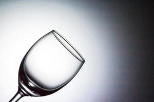wine glass. photo