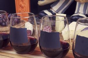 Wine With Appetizer photo