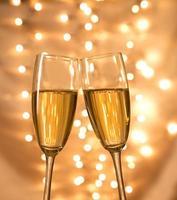 copas de champaña foto