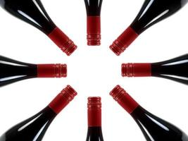 Red Wine Bottles photo