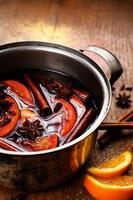 Mulled red wine with