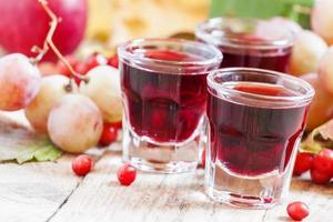 Homemade red wine