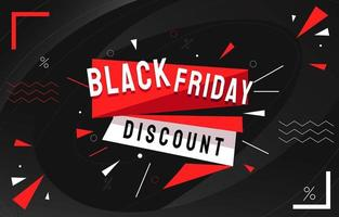 Playful Dark Black Friday Background