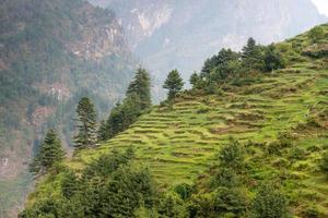 Annapurna Circuit - most popular tourists trek in Himalaya