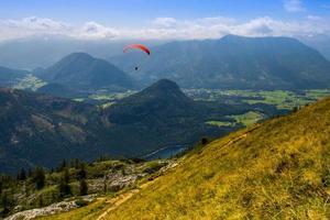 Parachuting photo