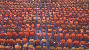 groupe de moines bouddhistes video