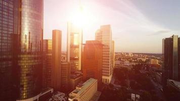 sfondo immobiliare. skyline della città