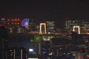 Tokyo night view photo