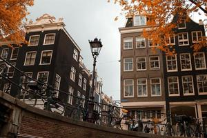 outono de amsterdam.