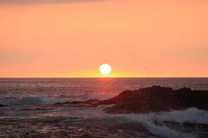 Hawaii Kailua Kona Sunset photo