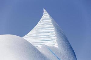 iceberg top near St. Anthony, Newfoundland photo