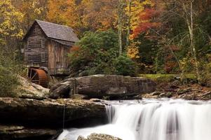Autumn at the Grist Mill photo