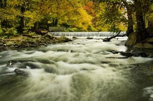 Hoopes Falls in the Autumn photo