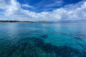 Turquoise Majorca lagoon photo